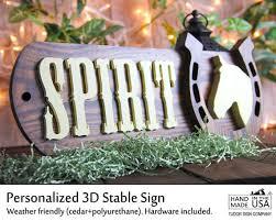 Personalized Horseshoe Personalized Horseshoe Sign Horse Stall Sign By Tudorsigncompany