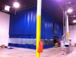 Loading Dock Air Curtain Loading Dock Curtains U0026 Warehouse Door Enclosure Systems