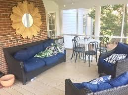 our screened porch makeover reveal emily a clark