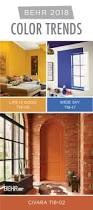 59 best behr 2018 color trends images on pinterest color trends