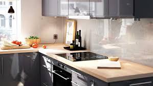 cuisine gris bois 05382507 photo cuisine ikea moderne chaleureux bois gris