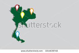 thailand vector map bangkok map vector free vector stock graphics images