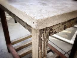 Travertine Patio Table White Travertine Paver Side Table Diy Projects