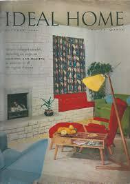 ideal home magazine oct 1954