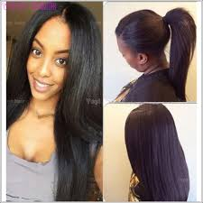 ponytail hair extensions peruvian ponytail hair extension for black women peruvian