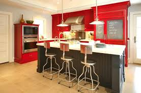 small kitchen paint colors with dark cabinets color schemes light