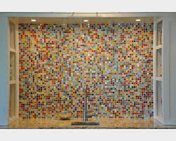 fashionable inspiration multi color backsplash tile home designing