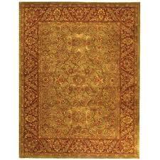 safavieh golden jaipur green rust area rug wayfair