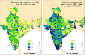 Gurgaon India Map by Toward A Better Appraisal Of Urbanization In India