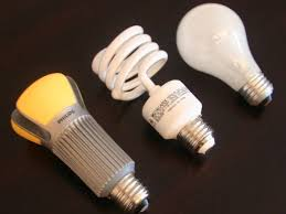 led fluorescent light bulbs side by side led cfl and incandescent bulbs cnet