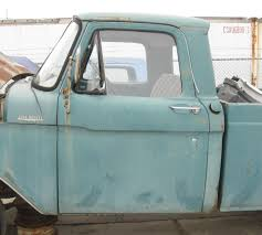 61 62 63 64 ford truck f100 f250 f350 left door with glass