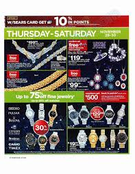 black friday jewelry sales sears black friday 2013 ad find the best sears black friday