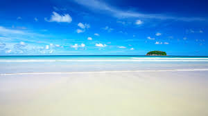 ocean blue sky exotic wallpapers and images wallpapers