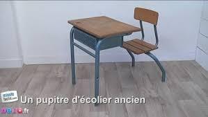 bureau d 馗olier ancien en bois 1 place comment décorer une table d écolier minutefacile com