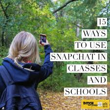 10 Little Ways To Sneak by 15 Ways To Use Snapchat In Classes And Schools Ditch That Textbook