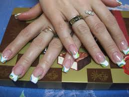 picture 7 of 11 french tip nail art designs photo gallery