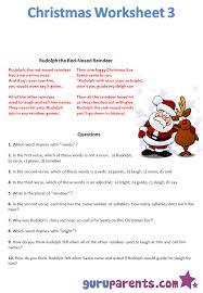 christmas worksheet worksheets