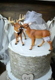 country cake topper realtree wedding cake toppers buck and doe topper deer
