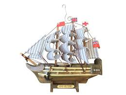 buy wooden hms victory model ship tree ornament boat