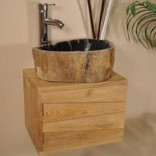 vente privee meuble de salle de bain teck cosy wanda 9653