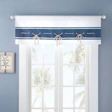 Nautical Valance Curtains Buy Nautical Valances From Bed Bath Beyond