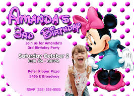 baby minnie mouse birthday invitations alanarasbach com