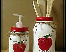 apple canisters for the kitchen deer moose kitchen canister set jar set brown