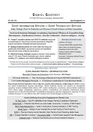 Pmo Resume Sample by Cio U0026 Cto Sample Resume By Award Winning Executive Resume Writer