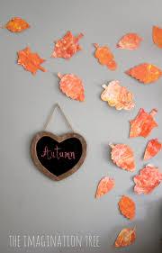 leaf shaped writing paper shaving cream marbling autumn leaves the imagination tree shaving cream marbling autumn leaves
