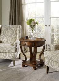 Accent End Table Hooker Furniture Living Room Archivist Round Accent End Table 5447