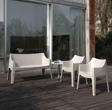 canape exterieur plastique jardins et terrasses canape deco plastique blanc scab design le