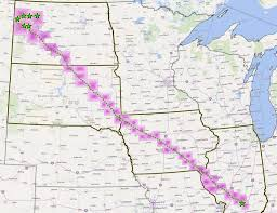 Pipeline Map Of North America by Where Does The Dakota Access Pipeline Run Dakota Access