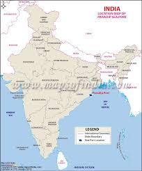 map port paradip port of jagatsinghpur odisha information and location map