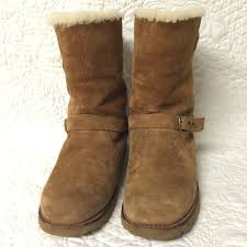 ugg australia noira chestnut sheepskin ugg noira waterproof size 7 authentic ugg noira waterproof size 7