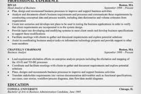 It Analyst Resume Examples by Sample Senior Business Analyst Resume Senior Financial Analyst
