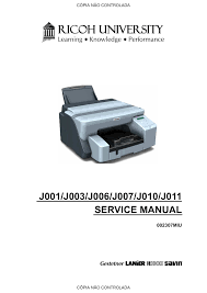 download free pdf for ricoh aficio gx3000 printer manual