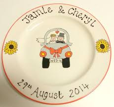 ceramic wedding plates 69 best wedding gifts images on couples wedding