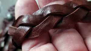 braid hand bracelet images Bo hand braided leather mystery bracelet trick braid bracelet jpg