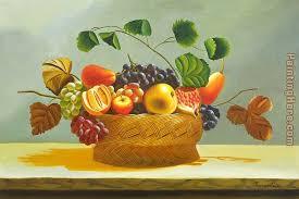 basket of fruit flower the fruit basket painting anysize 50 the fruit