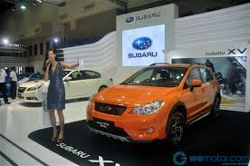 subaru orange crosstrek launch 2013 subaru xv crosstrek edition rm138 800 wemotor com