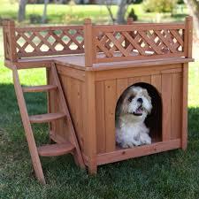 Rooftop Deck House Plans by Boomer U0026 George Stair Case Dog House Hayneedle