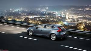 volvo v40 hatchback in india now launched team bhp