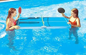 Amazon Ping Pong Table Amazon Com Floating Ping Pong Table Swimming Pool Game Use In