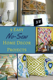 28 diy sewing projects home decor more no sew home decor