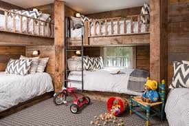 Bunk Beds Maine Portland Maine Rustic Wood Bunk Beds Style With Panel