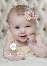 headband newborn baby headband newborn headband flower headband от thinkpinkbows