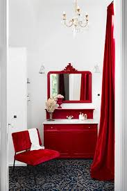 Bed Bath Decorating Ideas by Best 25 Red Bathrooms Ideas On Pinterest Paint Ideas For