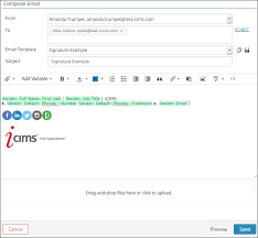 using email variables icims customer