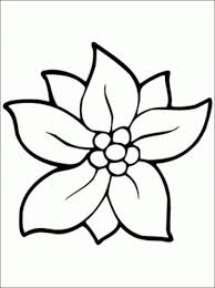 flower printable coloring sheets christmas flower coloring