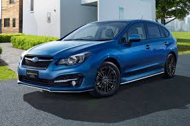 2017 subaru impreza sedan blue jdm only subaru impreza sport hybrid revealed
